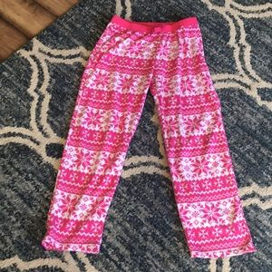 Children's Place pink pajama pants